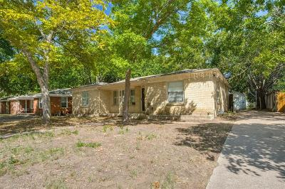 Fort Worth Single Family Home For Sale: 4608 Custer Drive