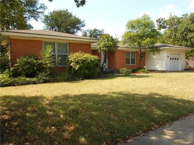 Fort Worth Single Family Home For Sale: 6808 Robinhood Lane