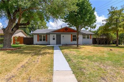 Richardson Single Family Home For Sale: 631 E Tyler Street