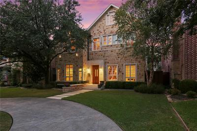 Dallas County Single Family Home For Sale: 3452 Amherst Avenue
