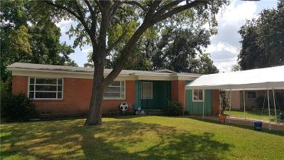 Dallas Single Family Home For Sale: 3010 Mayhew Drive