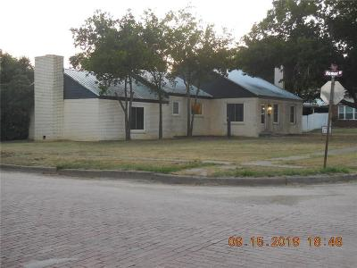 Eastland County Single Family Home For Sale: 805 Cherry Street