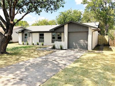 Farmers Branch Single Family Home For Sale: 14241 Queens Chapel Road