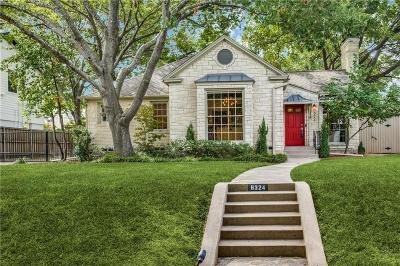 Dallas County Single Family Home For Sale: 6324 McCommas Boulevard