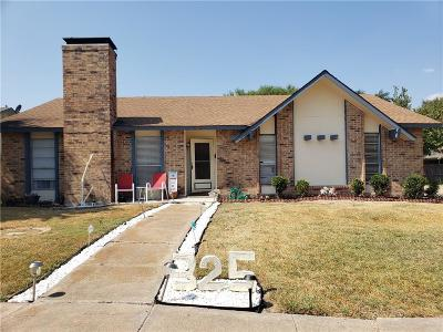 Garland Single Family Home For Sale: 325 Colonel Drive