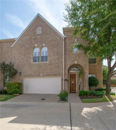 Colleyville Townhouse For Sale: 3961 Holiday Drive