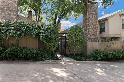 Dallas, Fort Worth Townhouse For Sale: 3205 Elizabeth Street
