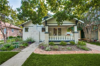 Dallas, Fort Worth Single Family Home For Sale: 228 N Brighton Avenue