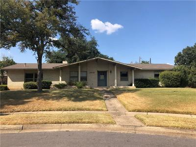 Dallas Single Family Home For Sale: 3919 Royal Palms Court