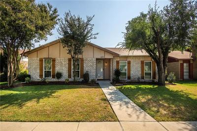 Single Family Home For Sale: 1832 Clear Creek Lane
