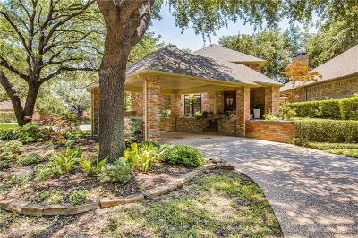 Dallas Single Family Home For Sale: 16838 Village Lane