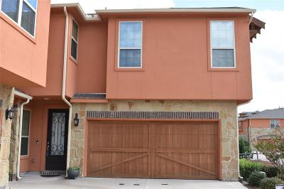 Grand Prairie Townhouse For Sale: 2670 Venice Drive #1