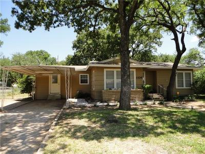 Brownwood Single Family Home For Sale: 1106 Oakland Drive