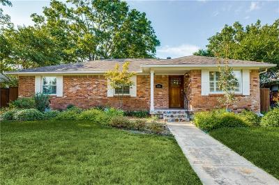 Dallas Single Family Home For Sale: 2716 Sharpview