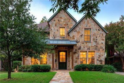 Dallas Single Family Home For Sale: 5935 Marquita Avenue