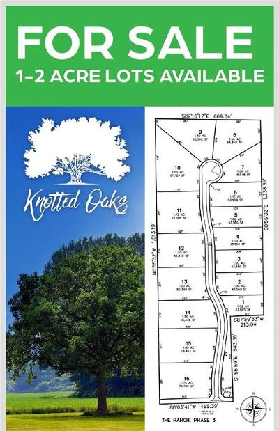 Residential Lots & Land For Sale: Lot 4 Knotted Oaks Way Road