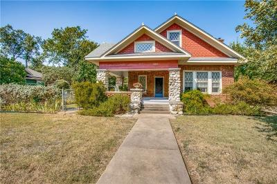 Dallas Single Family Home For Sale: 839 N Madison Avenue