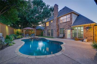 Denton County Single Family Home For Sale: 1118 Babbling Brook Drive