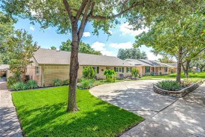 Dallas Single Family Home For Sale: 6712 Kingsbury Drive