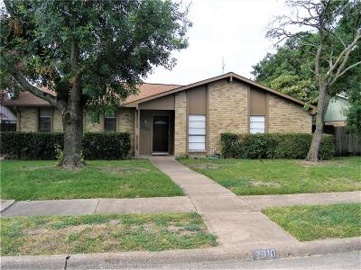 Garland Single Family Home For Sale: 2910 High Plateau Drive