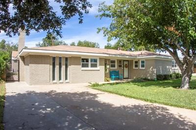 Odessa Single Family Home For Sale: 2519 E Cambridge St