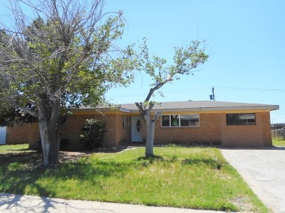 Odessa Single Family Home For Sale: 4215 Dawn Ave