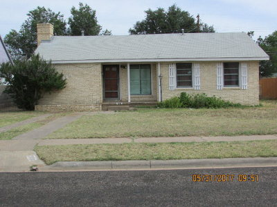 Odessa Single Family Home For Sale: 918 W 20th St