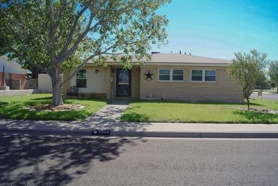 Odessa Single Family Home For Sale: 4900 Cordova St