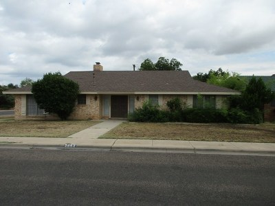 Odessa Single Family Home For Sale: 2842 21st St