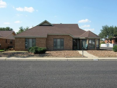 Odessa Single Family Home For Sale: 1700 W 23rd St