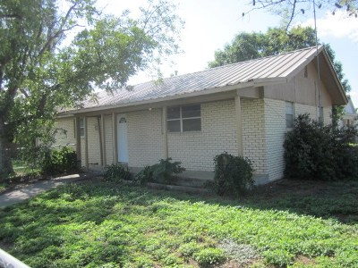 Monahans Single Family Home For Sale: 1300 S Allen