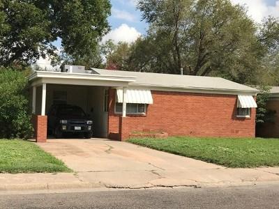 Odessa Single Family Home For Sale: 3112 Center