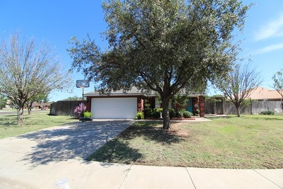 Odessa Single Family Home For Sale: 3841 Hinkle