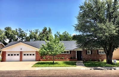 Odessa Single Family Home For Sale: 1506 Spur Ave