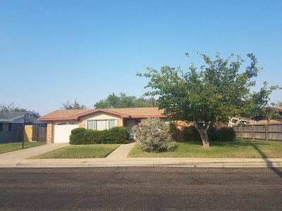 Odessa Single Family Home For Sale: 2512 Custer Ave