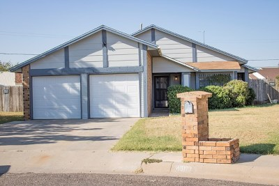 Midland Single Family Home For Sale: 4303 Trevino St