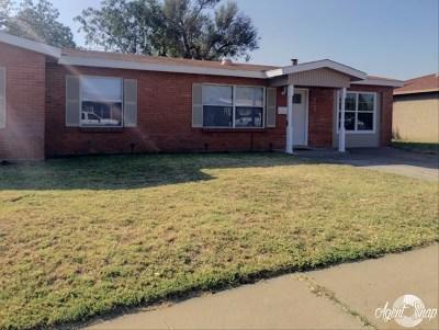 Odessa Single Family Home For Sale: 4205 San Jacinto
