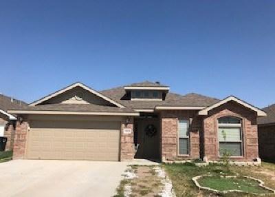 Odessa Single Family Home For Sale: 9908 Aloe Ct