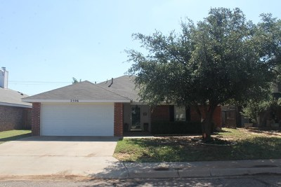 Midland Single Family Home For Sale: 2506 Rainbow Circle