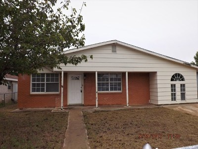 Odessa Single Family Home For Sale: 3111 Eastland