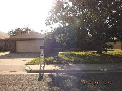 Odessa Single Family Home For Sale: 8919 Lamar Ave
