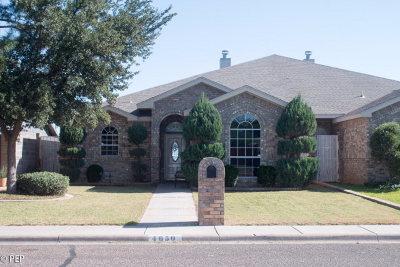 Odessa Single Family Home For Sale: 4650 Lemonwood Court
