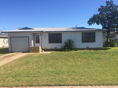 Odessa Single Family Home For Sale: 2705 Redwood