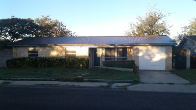 Odessa Single Family Home For Sale: 5205 Clinton Ave