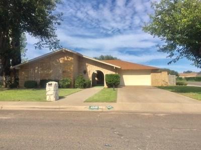 Odessa Single Family Home For Sale: 4349 Springdale Dr