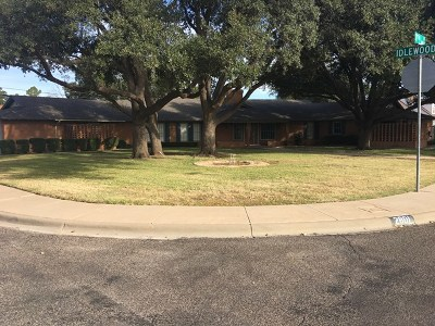 Andrews County, Ector County, Gaines County, Howard County Single Family Home For Sale: 2801 E 17th St