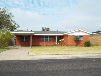 Odessa Single Family Home For Sale: 4009 Melody Lane