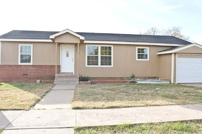 Odessa Single Family Home For Sale: 809 W 23rd St