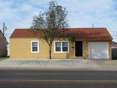 Odessa Single Family Home For Sale: 2741 N Dixie Blvd