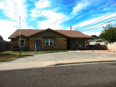 Odessa Single Family Home For Sale: 3900 Richardson Dr